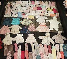 Bebé Niñas 0-3 meses Ropa Paquete 107 artículos
