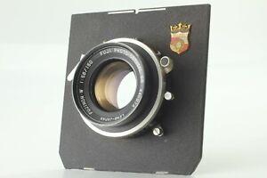 EXC-4-Fuji-Fujinon-W-150mm-f-5-6-lente-di-grande-formato-Copal-dal-Giappone