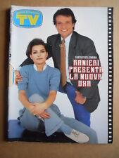 TV Sorrisi e Canzoni n°41 1989 Anna Oxa Massimo Ranieri Fantastico  [C92]