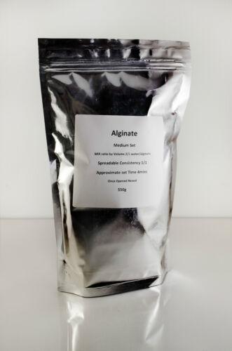 Skin Safe Dental Grade Alginate  Mould Making Compound Slower Set  1.65kg.
