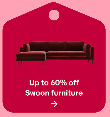 Up to 60% off Swoon furniture
