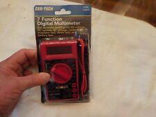 Cen Tech 7 Function Digital Multimeter Item 90899 New In Package