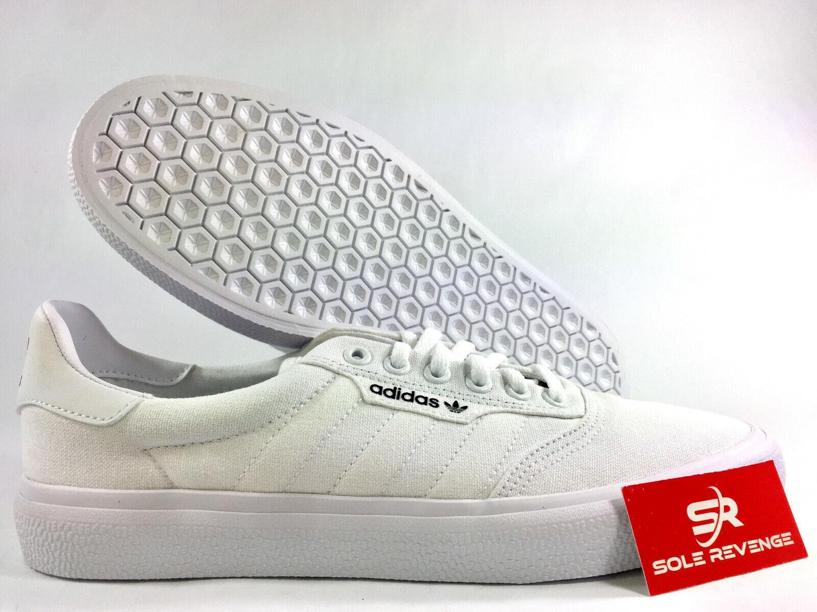 Adidas ADIDAS ORIGINALS 3MC VULC B22705 Homme Blanc Or Métallique Toile Chaussures c1