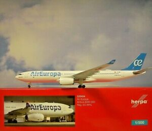Herpa Wings 1:500  Airbus A330-300  Air Europa EC-MHL   533454  Modellairport500
