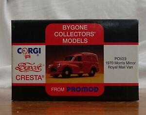 CORGI BYPOST CRESTA FROM PROMOD - 1970 MORRIS MINOR Royal Mail Van POV23