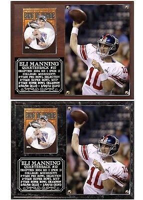 Eli Manning Ole Miss Legend Photo Card Plaque