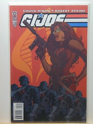 Amiable Gi Joe #2 Cover A Variant Idw Comics 2009 Cb7161 Comics
