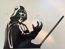 """DARTH VADER Star Wars Decal LAPTOP / MACBOOK Mac Pro Air Sticker Apple 6.25""""x9"""""""