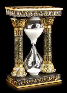 Sanduhr Deko.Details Zu ägyptische Sanduhr Mit Ankh Und Auge Des Ra Symbolen Deko Figur Uhr