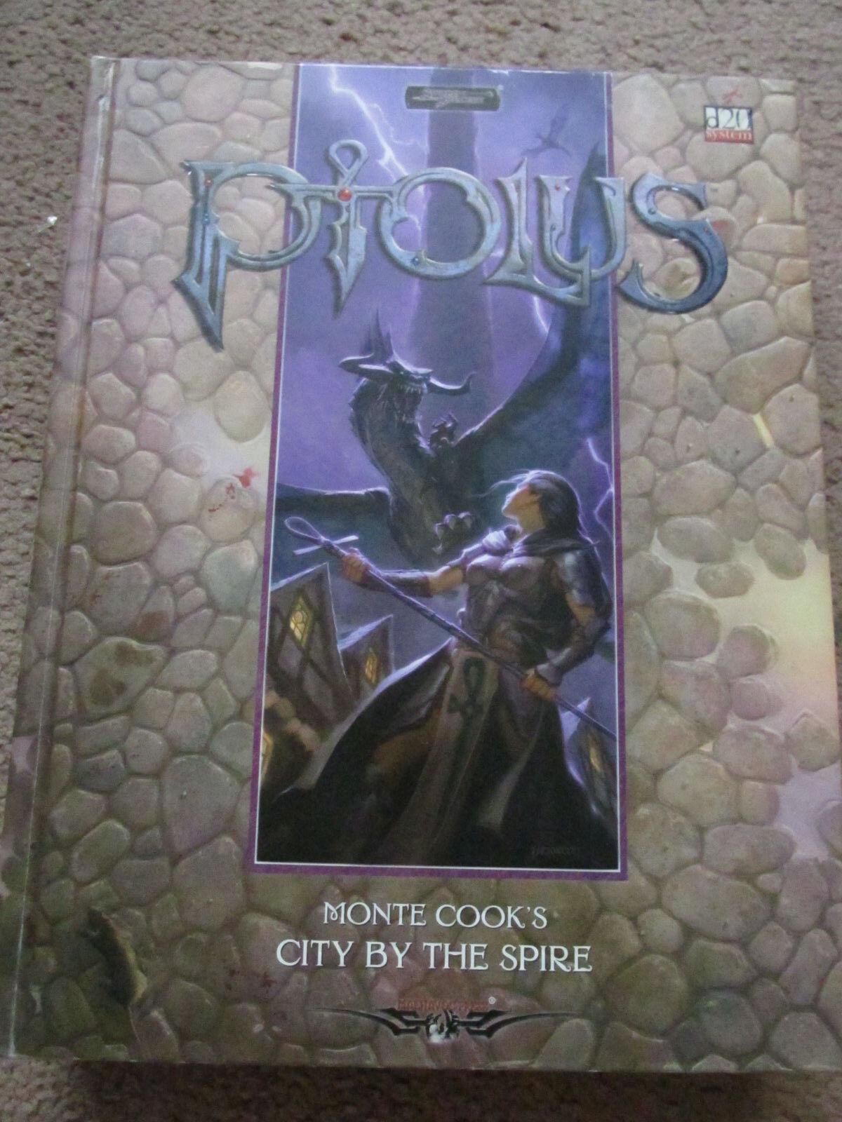 PTOLUS CITY BY THE SPIRE MONTE COOKE D20 3E 3.5E 4E WW16114 S&S SWORD & SORCERY