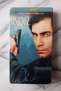 Licence-to-Kill-VHS-1989-UNOPENED-The-James-Bond-007-Collection-VO