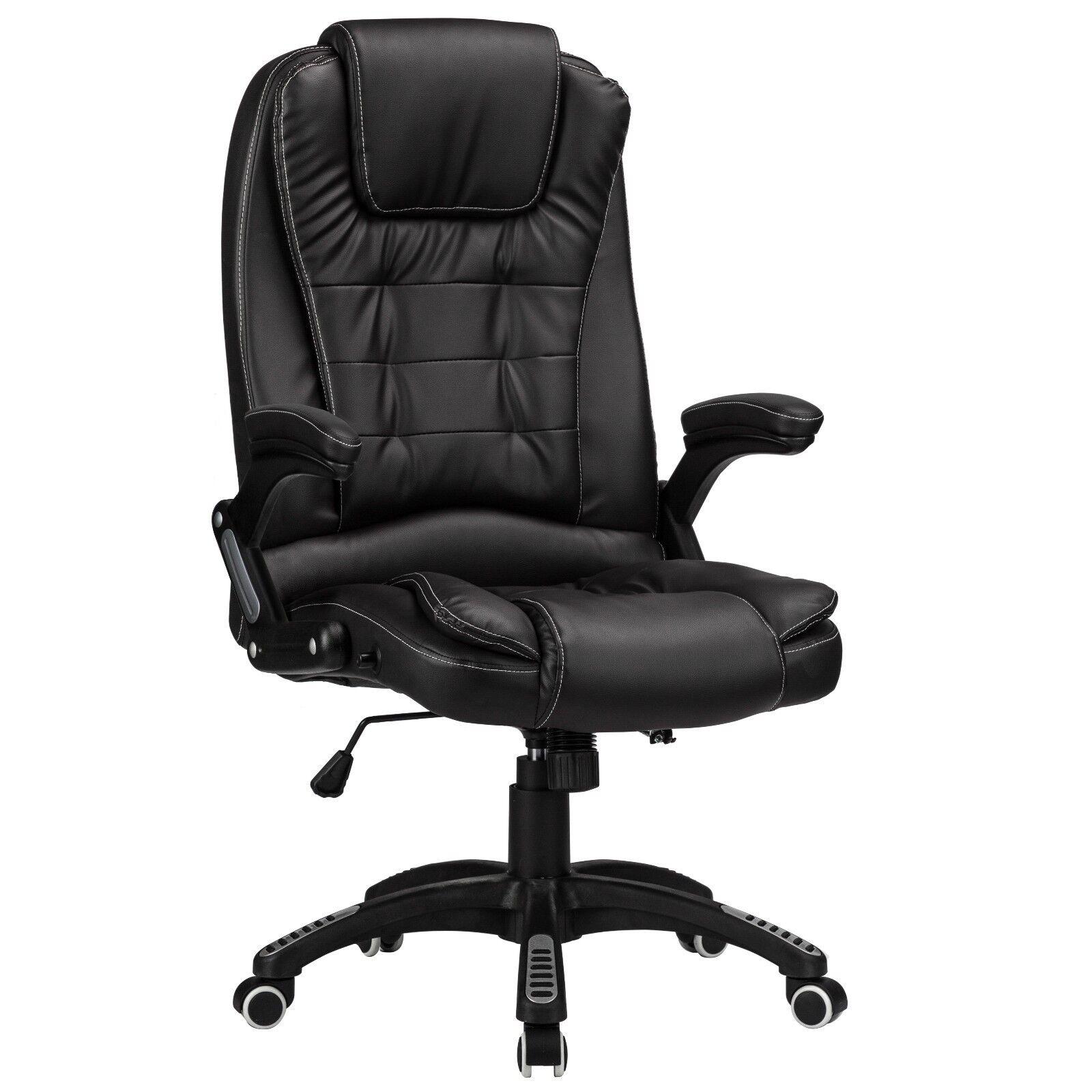 Inclinable Chaise De En Bureau Luxe Pivotant En De Cuir Synthetique