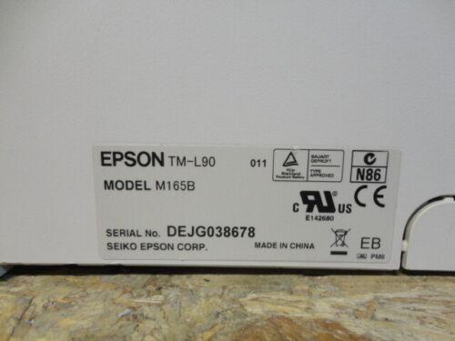 EPSON TM-L90 Kassendrucker POS Thermo EtikettenDrucker Bondrucker  M165B