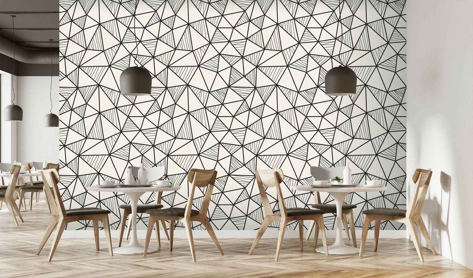 3D Sketch Triangle 8 Texture Tiles Marble Wall Paper Decal Wallpaper Mural AJ AU
