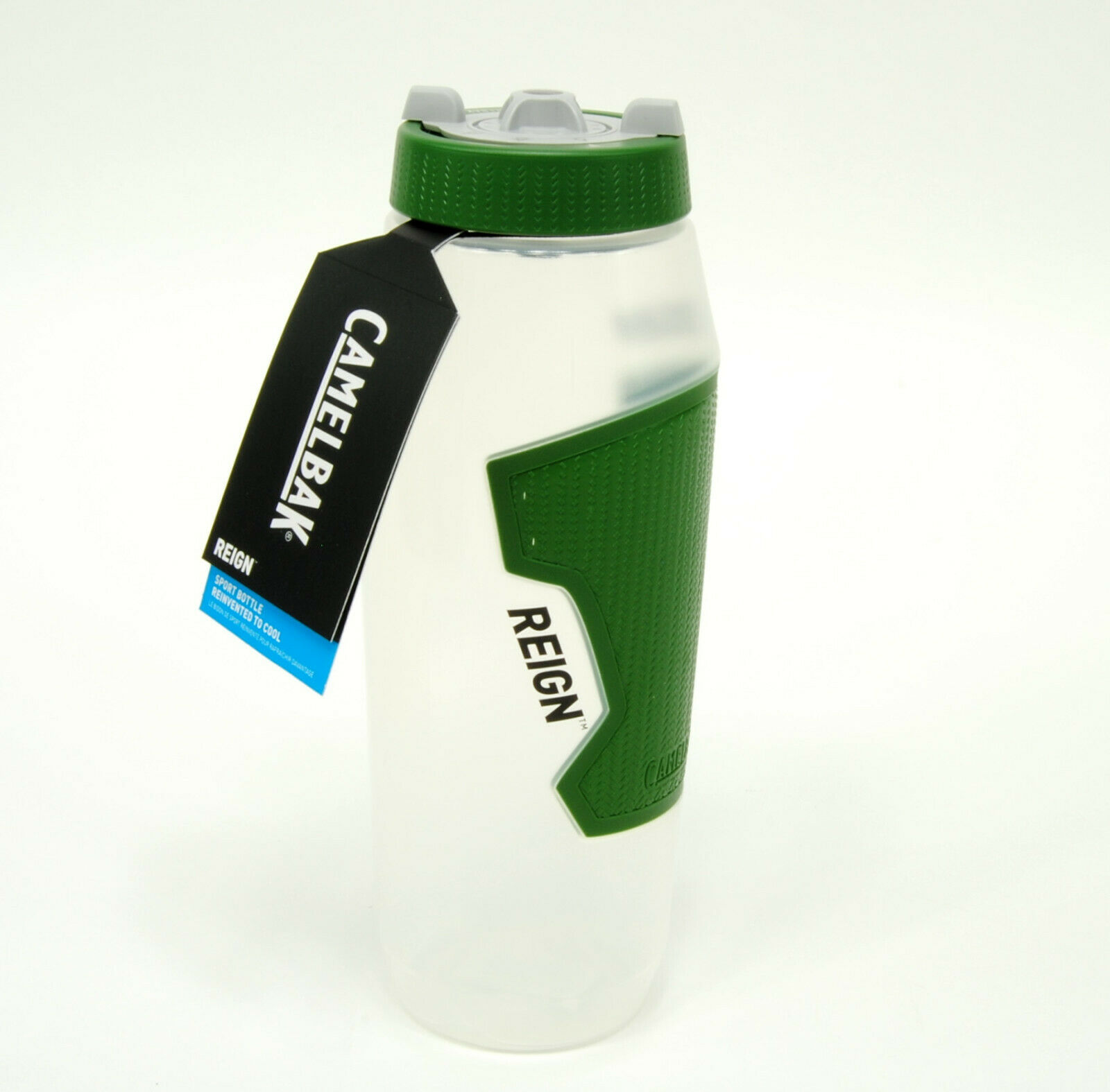 Camelbak Reign BPA Free TruTaste Water Bottle 32oz BPA Free Clear//Black