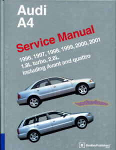 shop manual a4 service repair audi bentley book quattro vant 1 8 2 8 rh ebay com 2004 audi s4 bentley repair manual bentley repair manual audi a6 c6
