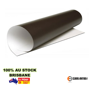 5X Magnetic Sheets A3 x 0.6mm PVC White Gloss | Sheet Magnet | Office Whiteboard