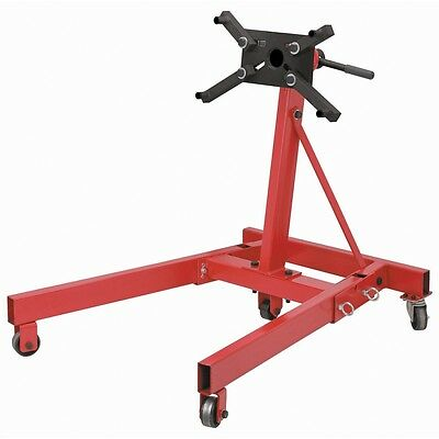 2000 lb Folding Engine Stand - Rotating 4 Leg Type - for car & truck motors