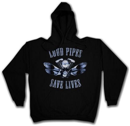 Lives Save Hooded Live Ride Loud Biker Pipes Club Sweatshirt Hoodie To Samcro FBqZWxETwx
