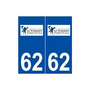 62-Le-Touquet-Paris-Plage-logo-autocollant-plaque-stickers-ville-arrondis