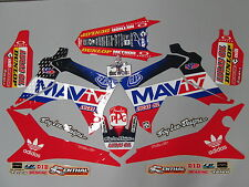 Honda CRF250 2014-2017 CRF450 2013-16 Troy Lee Designs Mav TV graphic kit EJ2013