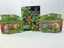 Teenage Mutant Ninja Turtles Clip & Go Set Cake Topper Key Chain & Board Game FS