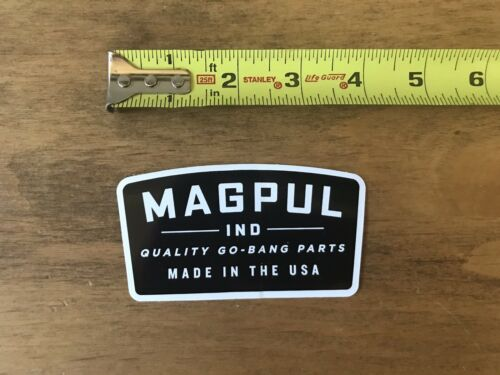 Magpul Quality Go Bang Part Stickers//Decal Gun Tactical AR AK Hunting  Shot Show