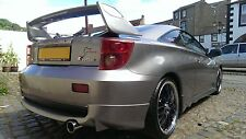 Toyota Celica Gen 7 TRD Rear Boot Spoiler - Black Gloss Blade - 1999-2005 - New!