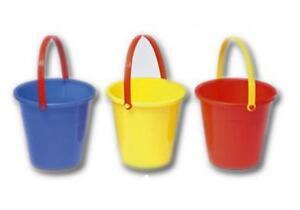Image Is Loading Set Of 5 Small Beach Buckets Bulk