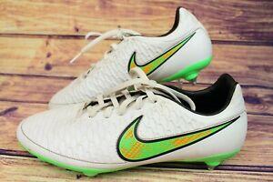 Nike-Magista-Onda-SG-BIANCO-veleno-Verde-Nero-Da-Uomo-Stivali-Rugby-UK-9