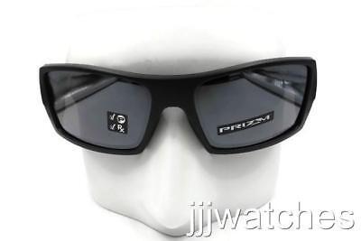 5f3d978d32d New Oakley Gascan Matte Black PRIZM Polarized Rx Sunglasses OO9014 28-60   163