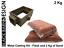 Kit-de-fundicion-de-arena-2-kg-amp-matraz-para-metal-casting-estilo-de-Delft-Oro-Plata-Bronce miniatura 1