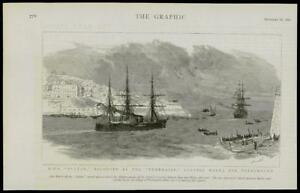 1889-Antique-Print-MALTA-HMS-SULTAN-ESCORT-TEMERAIRE-REPAIR-PORTSMOUTH-054