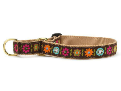 Up Country -Made In USA Choose Size Dog Martingale Collar Bella Floral