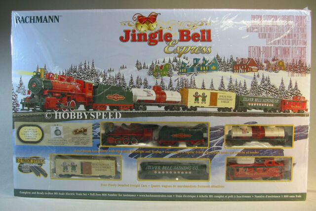 BACHMANN HO JINGLE BELL EXPRESS SET train car ez track engine freight 00724   eBay