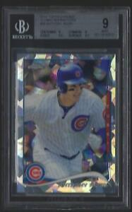 2014-TOPPS-CHROME-ATOMIC-REFRACTOR-ANTHONY-RIZZO-CUBS-5-10-BGS-9-MINT