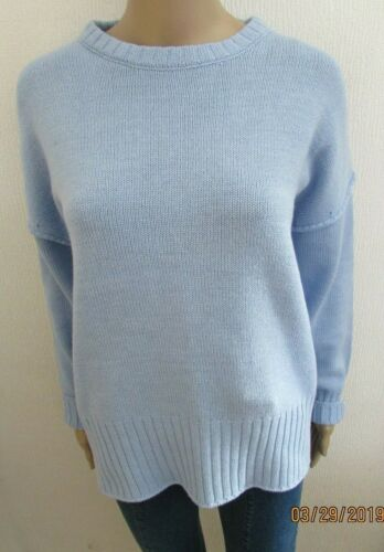NWT BABY BLUE COTTON DROP SHOULDER JUMPER 12//14 16//18 AVAILABLE