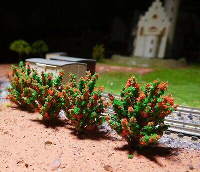 Attento 10 Cespugli Verde Scuro, Rosso Modernità 40 Mm Ad Alta-mostra Il Titolo Originale Rafforzare L'Intero Sistema E Rafforzarlo