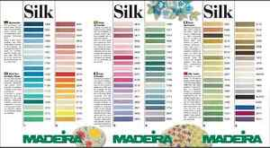 Madeira 100/% PURE SILK 4-Strand Hand Embroidery Thread Colour 0503