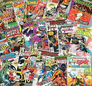 1 BOX LOT OF 80 COMICS DC ONLY NO DUPLICATION FREE PRIORITY SHIPPING