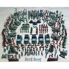 Soldier Army Men Figures Military Sand Action Scene Kit Toy Model 300-100Pcs