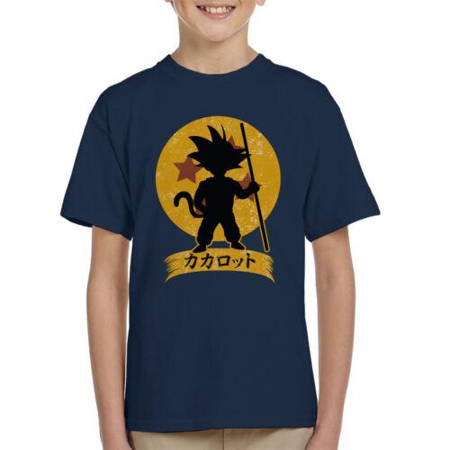Kakarrot Crest Dragon Ball Z KID/'S T-shirt
