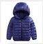 Boys Girls Down Jacket Coat Puffer Hooded Kids Outwear Baby Warm Snowsuit Padded