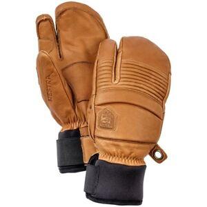 Hestra DREI-Finger-Handschuhe Damen Herren schwarz 9