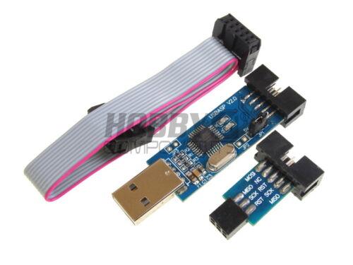 Hobby componentes UK-Usbasp Programador AVR adaptador