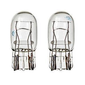 DRL-2x-w21-5w-t20-580-7443-Finestra-Laterale-Vetro-Trasparente-DUAL-lampade-a-incandescenza-3800k