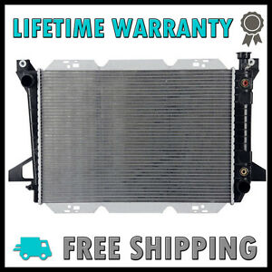 1454-New-Radiator-for-Ford-Bronco-85-92-F-150-F-250-F-350-85-96-4-9-L6-2-Row