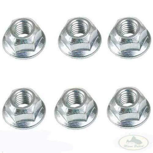 LAND ROVER EXHAUST MANIFOLD NUT SET x6 RANGE CLASSIC DEFENDER DISCOVERY ERR4245