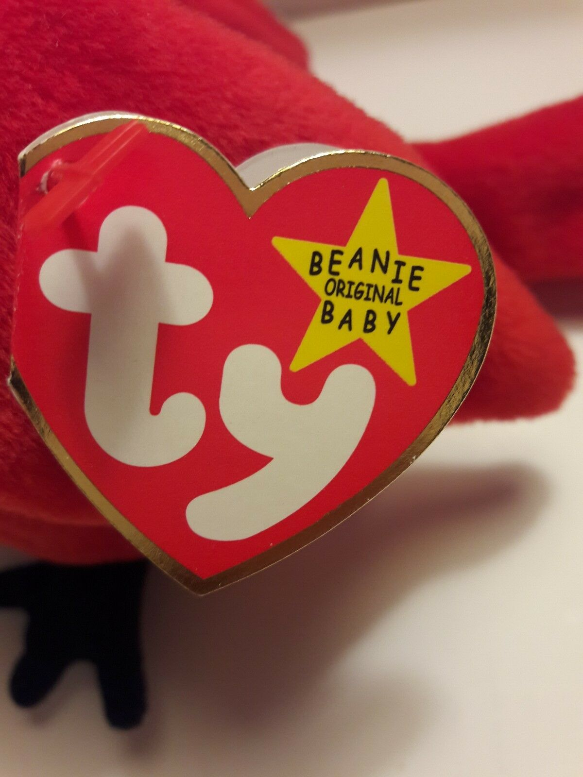 Beanie Baby MAC With Gasport Error Red Red Red Cardinal McGuire Collectable Rare 1ca8ac
