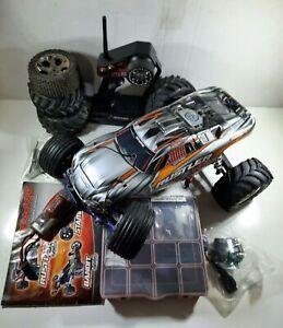Traxxas 1/10 Rustler VXL 2wd 2.4 Brushless R/C Stadium Truck w/Upgrades & Extras